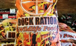 Bag of Buck Ration Wildlife Feed